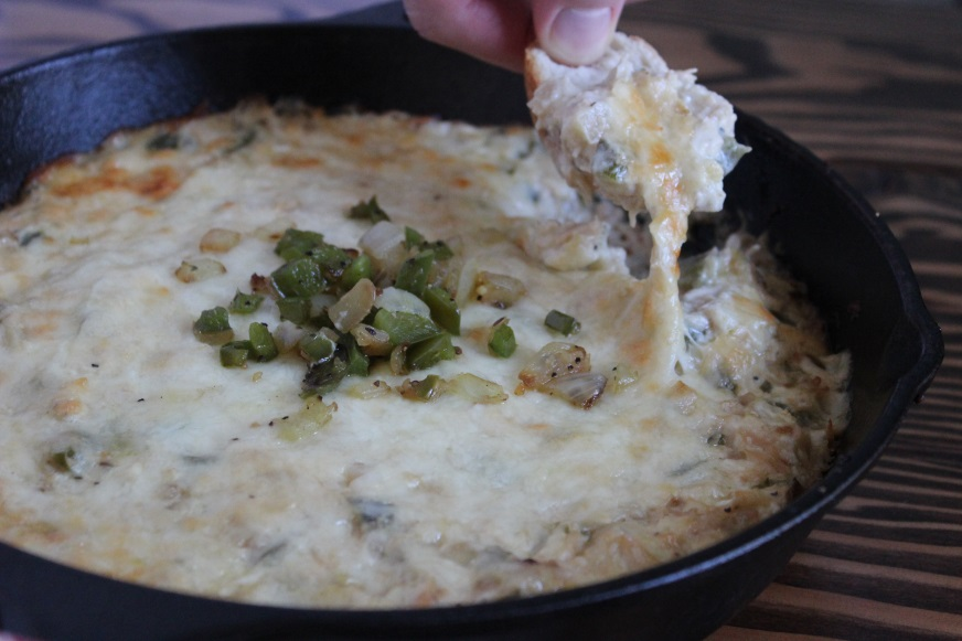 chicken philly cheese dip