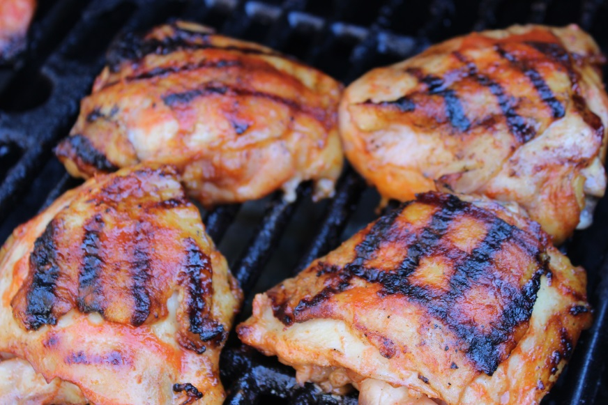 sriracha honey lime chicken thighs