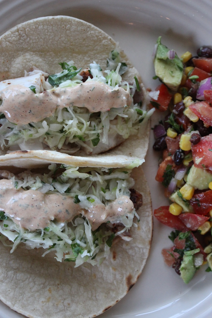 The best fish tacos miss foodie two shoes for Best fish to use for fish tacos