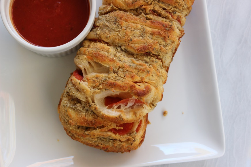 pepperoni pull-apart bread