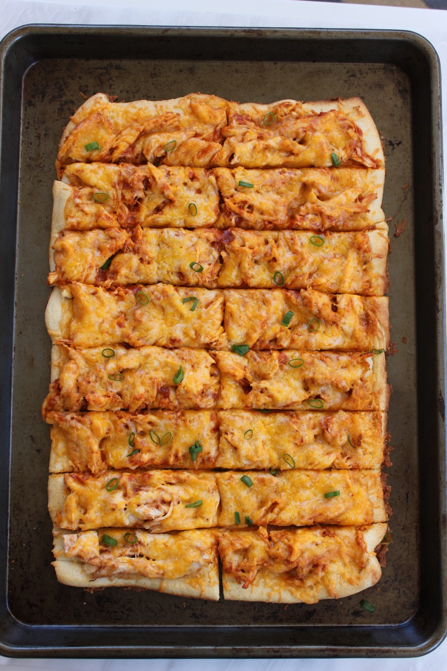 sweet and spicy cheesy chicken sticks